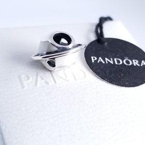PANDORA Planet of Love Charm Silver NWT
